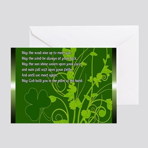 MAY-THE-ROAD-RISE-TO-MEET-YOU-STADIU Greeting Card