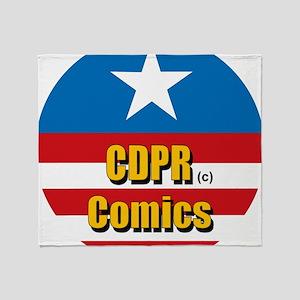 CDPR Comics Throw Blanket