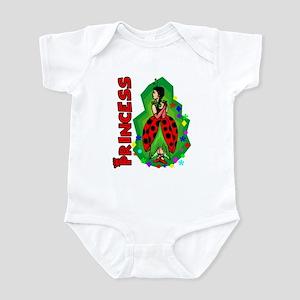 Princess Ladybug Dark Hair Infant Bodysuit