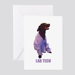 lab tech Greeting Cards (Pk of 10)