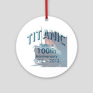 Titanic-3 Round Ornament