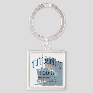 Titanic-3 Square Keychain