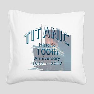 Titanic-3 Square Canvas Pillow