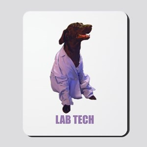 lab tech Mousepad