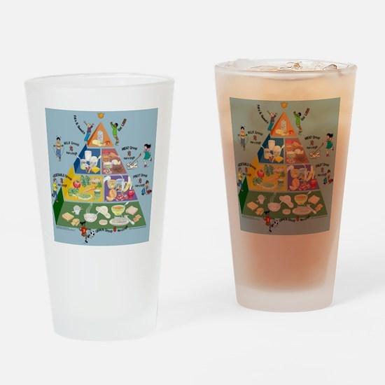 kids_food_pyramid.jpg Drinking Glass