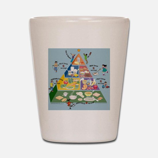 kids_food_pyramid.jpg Shot Glass