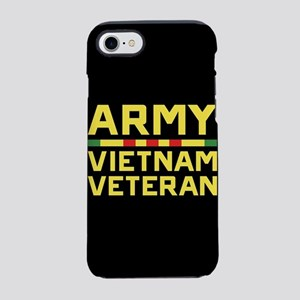 Army Vietnam Veteran iPhone 7 Tough Case