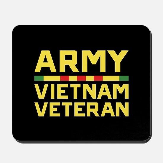 Army Vietnam Veteran Mousepad