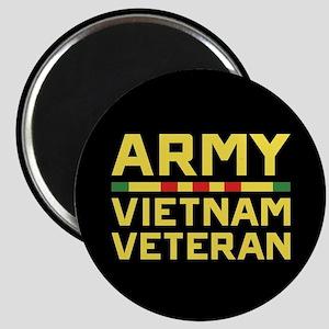 Army Vietnam Veteran Magnet