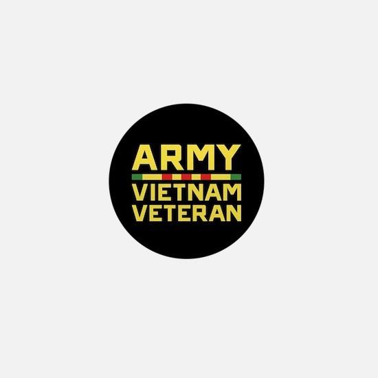 Army Vietnam Veteran Mini Button