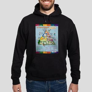 Food Guide Pyramid Sweatshirt