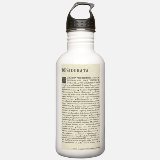 Funny Inspirational Water Bottle