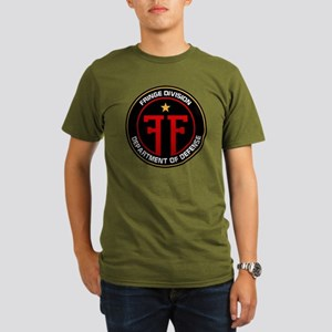 Fringe division Organic Men's T-Shirt (dark)