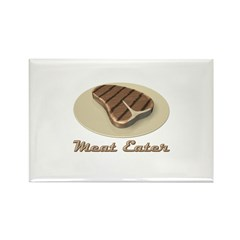 Meat Eater Rectangle Magnet