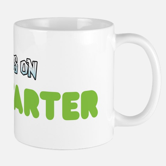backuson_kickstarter_white Mug