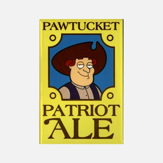 Pawtucket Patriot Ale Rectangle Magnet