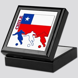 Chile Soccer Keepsake Box