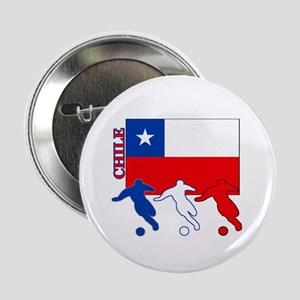 """Chile Soccer 2.25"""" Button (10 pack)"""