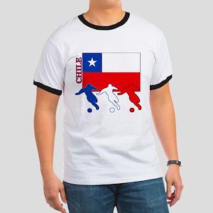 Chile Soccer Ringer T