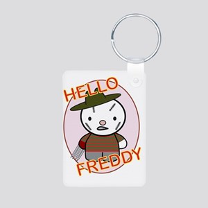 Freddy Aluminum Photo Keychain