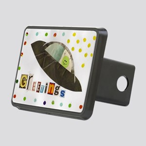 greetings Rectangular Hitch Cover