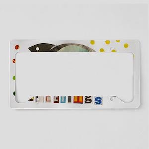 greetings License Plate Holder