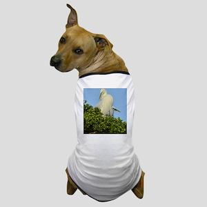 Great Egret 1100x1500 Dog T-Shirt