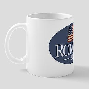 5x3 Romney with USA Flag Mug