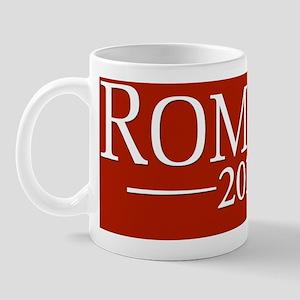 bumper red design for Romney Mug