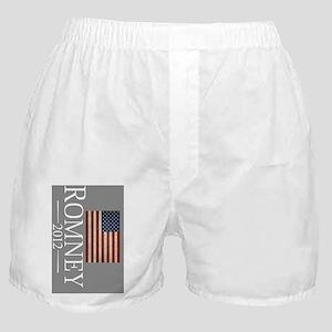 Mitt Romney USA Flag keychain Boxer Shorts