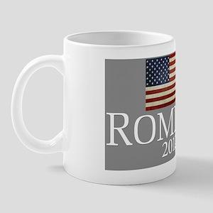 Mitt Romney USA Flag license-plate Mug