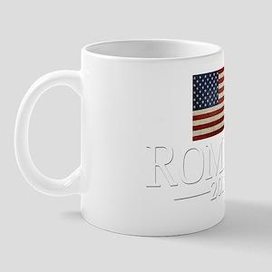 Mitt Romney USA Flag Mug