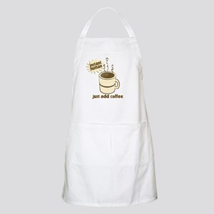 Instant Human Just Add Coffee BBQ Apron