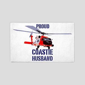 USCG Jayhawk Husband 3'x5' Area Rug