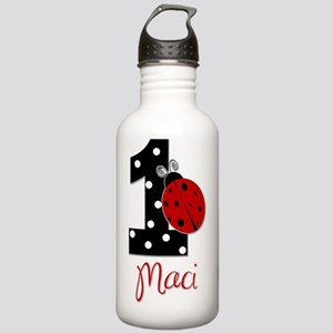 1_ladybug_birthdaygirl Stainless Water Bottle 1.0L