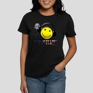 HAMMIN IT UP Women's Dark T-Shirt