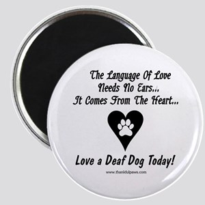 Language of Love Magnet