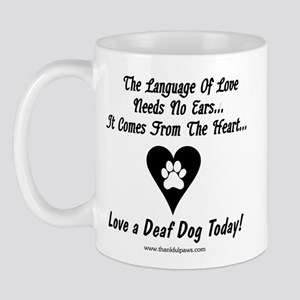Language of Love Mug