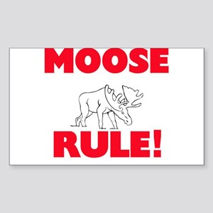 Moose Rule! Sticker