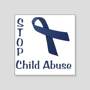 """Child_abuse Square Sticker 3"""" x 3"""""""