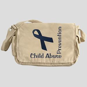 Child_Abuse_Prevention_wht Messenger Bag