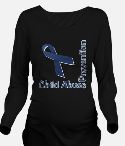 Child_Abuse_Preventi Long Sleeve Maternity T-Shirt