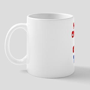 Howd I Get Over The Hill Mug
