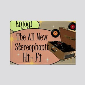 stereophonic-hi-fi-14x10_LARGE-FR Rectangle Magnet