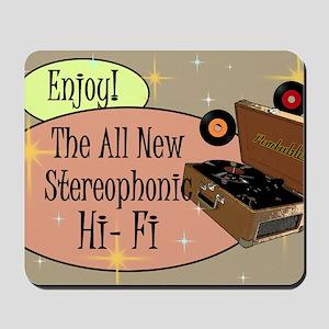 stereophonic-hi-fi-14x10_LARGE-FRAMED-pr Mousepad