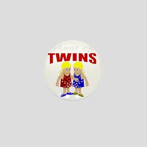 Aunt of twins Mini Button