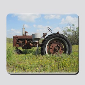 Rusty Tractor Mousepad