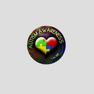 autismawareness-1in88-roundorsquare Mini Button