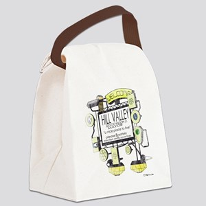 Welcome to Hill Valley Canvas Lunch Bag