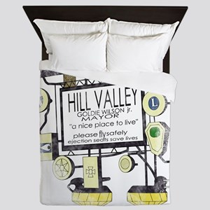 Welcome to Hill Valley Queen Duvet